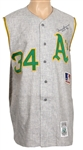 Rollie Fingers Oakland As Signed Jersey