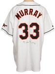 Eddie Murray Signed Baltimore Orioles Cooperstown Replica Rookie Jersey