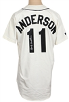 Sparky Anderson Detroit Tigers Signed Jersey