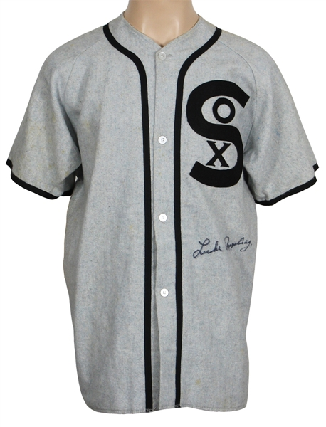 Luke Appling Signed Chicago White Sox Jersey