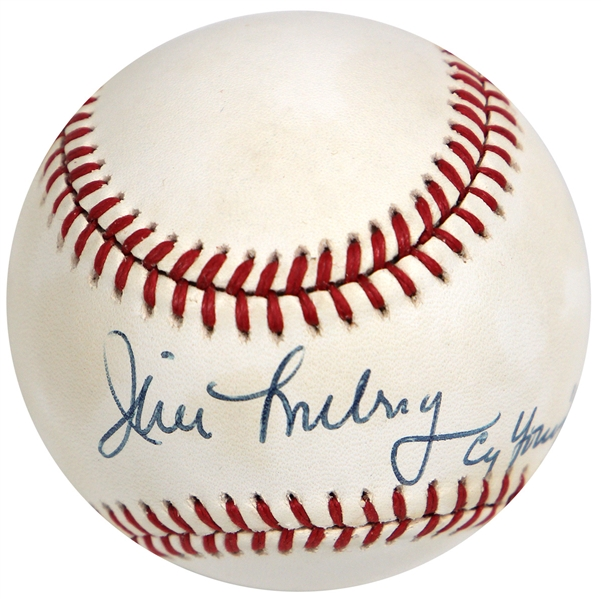 Jim Lonborg 1967 Cy Young Winner Signed Baseball