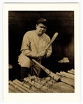 Babe Ruth Signed and Inscribed Portrait Photograph