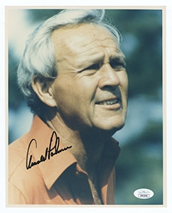 Arnold Palmer Signed Photograph JSA Authentication