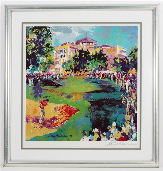 "LeRoy Neiman Signed 1979 ""Westchester Golf Classic"" Art Lithograph"