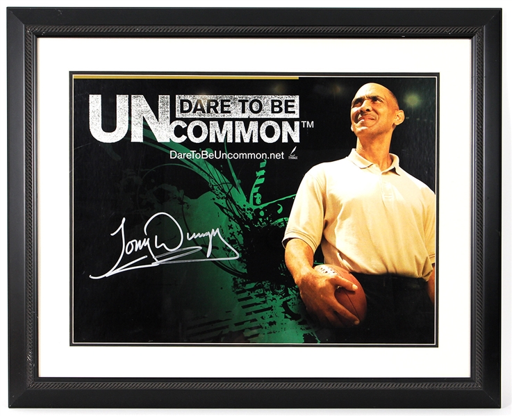 Tony Dungy Signed Poster