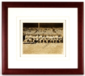 Babe Ruth Signed Christy Walsh NY Yankees 1934 Presentation Photograph PSA LOA