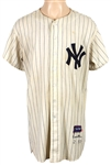 1957 Frank Crosetti Game Worn New York Yankees Jersey