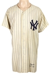 1955 Ed Lopat Game Worn New York Yankees Home Pinstripe Jersey