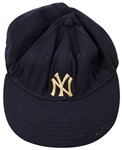 Mickey Mantle 1951-1952 Game Worn New York Yankees Baseball Cap