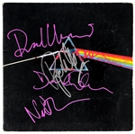 "Pink Floyd Full Signed ""Dark Side of the Moon"" Album JSA"