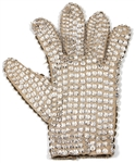 "Michael Jackson ""Victory Tour"" Stage Worn Bill Whitten Custom Right Hand Swarovski Crystal Glove"