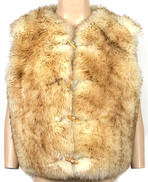 George Harrison Circa 1970s Owned and Worn Sheepskin Vest