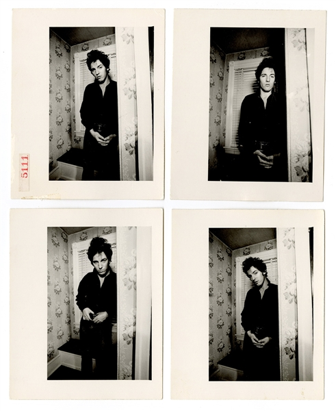 "Bruce Springsteen Original ""Darkness on the Edge of Town""  Frank Stefanko Album Cover Outtake Photographs"