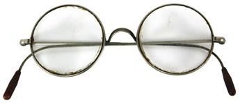 John Lennon Tittenhurst Owned and Worn Eyeglasses
