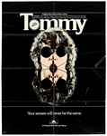 "The Who Original ""Tommy"" Promotional Poster"
