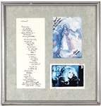 "Stevie Nicks Signed ""Three Birds of Rhiannon"" Display"
