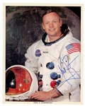 Neil Armstrong Signed Photograph JSA