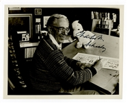 Charles Schulz Signed Photograph JSA