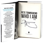 "Pete Townshend Signed ""Who I Am"" Book"