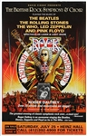 The Who Roger Daltrey British Symphony Heinz Hall Concert Posters, 1990's (2)