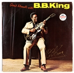 "B.B. King Signed ""Great Moments with B.B. King"" Album  JSA"