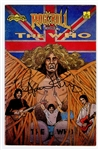 The Who Roger Daltrey Signed Rock N Roll Comic Book JSA