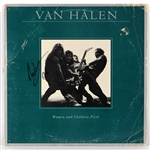 "Eddie Van Halen Signed ""Women and Children First"" Album"