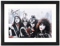 KISS Band Signed Photograph