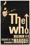 The Who Original Maximum R&B Marquee Concert Poster