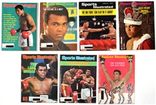 Muhammad Ali Collection of Sports Illustrated Magazines (7) and Life Magazines (3)