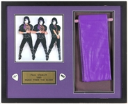 "KISS Paul Stanley Owned, Stage Worn and Photoshoot Worn Purple Headband ""Music From the Elder"" 1981 Era"