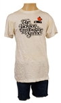 "Michael Jackson Owned & Worn ""Jackson Limousine Service"" T-Shirt and Denim Shorts"