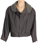 Michael Jackson Owned & Worn Grey Italian Bomber Jacket