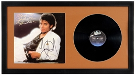 "Michael Jackson Signed ""Thriller"" Album"