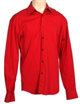 Michael Jackson Owned & Worn Long-Sleeved Red Prada Shirt