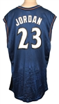 Michael Jordan Signed Washington Wizards Jersey JSA
