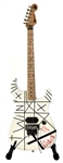"Eddie Van Halen Stage Played, Hand Striped and Signed Iconic ""Tic Tac Toe"" Charvel Series Guitar"