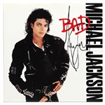 "Michael Jackson Signed ""Bad"" Album JSA"