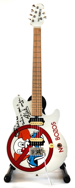 "Eddie Van Halen 5150 Studio Played and Signed Custom ""No Bozos"" Guitar"