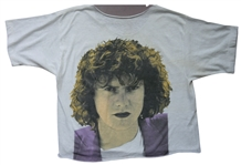 "Def Leppard Rick Allen Owned, ""Hysteria"" Recording Worn and Stage Worn ""Rick Allen"" T-Shirt"