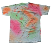Def Leppard Rick Allen Owned and Photoshoot Worn Tie-Dye T-Shirt