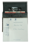 "Def Leppard Rick Allen Owned Original Unreleased Wisseloord Studios ""Excitable"" Cassette Tape"