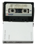 "Def Leppard Rick Allen ""New Songs' Wisseloord Studios Cassette Tape With Handwritten Label"