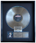 "Def Leppard ""Hysteria"" RIAA Record Award Presented to Rick Allen"