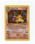 1999 Pokémon Base 1st Edition Holo Thick Stamp Shadowless Charizard #4 Raw Ungraded Pack Fresh!