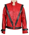 "Michael Jackson Signed ""Thriller"" Jacket"