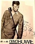 David Bowie Signed Photograph David Bowie Autographs LOA