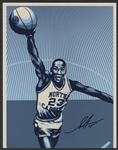 Michael Jordan Original Artwork Photograph Signed by Artist