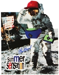 "Alan Shepard Signed ""Summer Sensations"" Display"