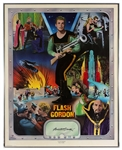 Buster Crabbe Signed FLASH GORDON Poster